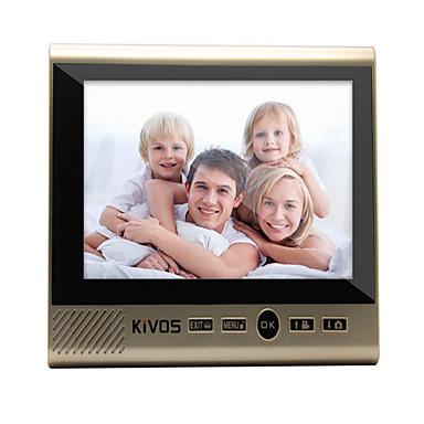 Trådløs Flerfamiliehuse video dørklokken 7 Håndholdt 130 en til en video Dørtelefonen