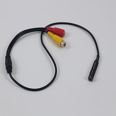 mini kamera 720p små digitale hjem sikkerhet skjult kamera 3.7mm linse 12VDC 100W bare for ahd dvr