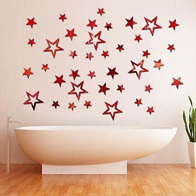 Dekorative Wand Sticker - Spiegel Wandsticker Weihnachten Wohnzimmer Studierzimmer / Büro Shops / Cafés