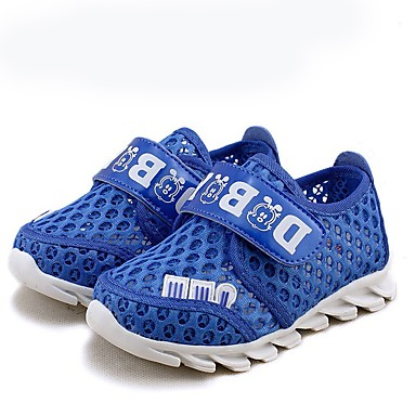 Sneakers-Tyl-Komfort-Unisex-Blå Lys pink-Fritid-Flad hæl