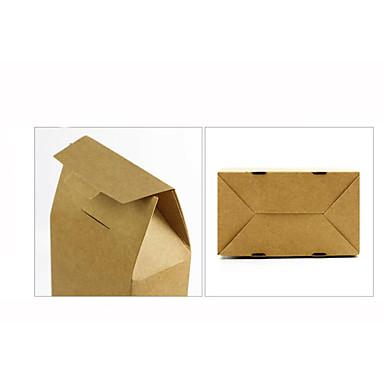 koe lederen tas thee verpakking kraftpapier boxesthe specificatie kan worden aangepast formaat 7,5 * 5,8 * 16 CMA pak van 20