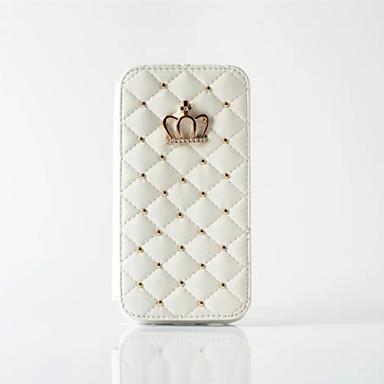 Hülle Für Apple iPhone X iPhone 8 iPhone 5 Hülle iPhone 6 iPhone 6 Plus Kreditkartenfächer Geldbeutel Strass Ganzkörper-Gehäuse
