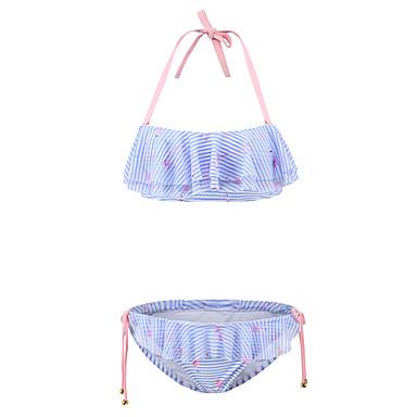 Kvinders Nylon / Spandex Halterneck Folder Bikini