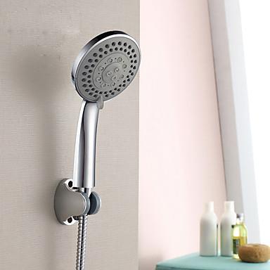 Modern Nur Dusche Handdusche inklusive Keramisches Ventil Einhand Ein Loch Chrom, Duscharmaturen