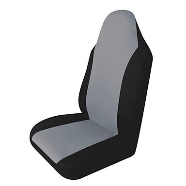 1pc tampa do assento de carro carro styling tampa do assento dianteiro de peça única almofada anti-poeira cobre protetor de assento de