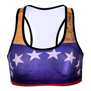 Herrn Damen Sport-BHs Komfortabel Sonnenschutz Oberteile für Übung & Fitness Laufen Baumwolle Chinlon Purpur S M L