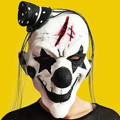 halloween volle gezicht horror grimas masker maskerade kostuum partij bewegende thema jurk zag masker gezicht kap