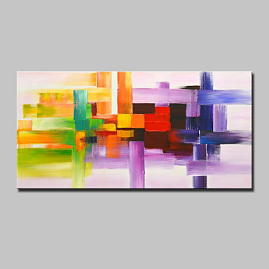 Hang-geschilderd olieverfschilderij Handgeschilderde - Abstract Modern Kangas