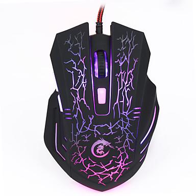 Mit Kabel Gaming Mouse DPI Adjustable Hinterleuchtet 1200/1600/2400/3200/5500