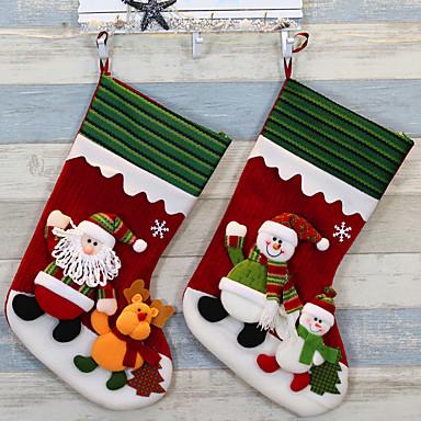 meias de Natal Suprimentos Natal meias meias natal dia de Natal enfeites de meias de santa