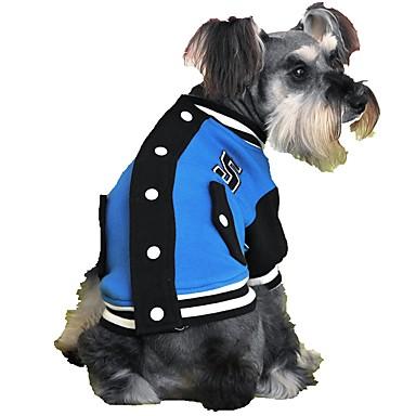 e63ec2517f7c Χαμηλού Κόστους Ρούχα για σκύλους-Γάτα Σκύλος Πουλόβερ Ρούχα για σκύλους  Συνδυασμός Χρωμάτων Τριανταφυλλί Κόκκινο