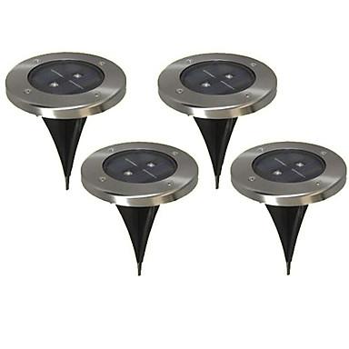 abordables Éclairage Extérieur-2 LED Blanc Chaud Rechargeable / Décorative Pile