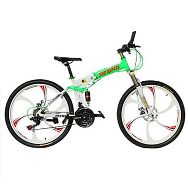 Mountain Bikes / Foldecykler Cykling 21 Speed 26 tommer (ca. 66cm)/700CC 50mm Herre / Kvinders / Unisex Voksen Dobbelt skivebremse Normal
