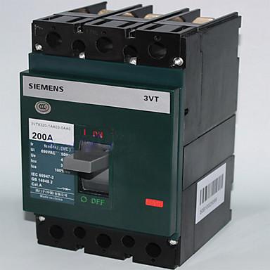 siemens gegoten case circuit breakers 3vt8320-1aa03-0aa0 3vt250 3p 200a