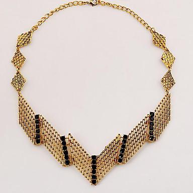 Dames Hangertjes ketting Juweeltje Verguld imitatie Diamond Legering Modieus Goud Sieraden Feest Dagelijks Causaal 1 stuks