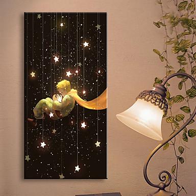 LED-es vászon dekor Landscape Egy elem Függőleges fali dekoráció lakberendezési