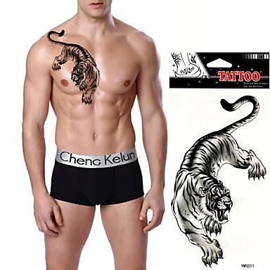 Tatoveringsklistermærker Dyre Serier Ikke Giftig Vandtæt Dame Herre Voksen Teenager Flash tatovering Midlertidige Tatoveringer