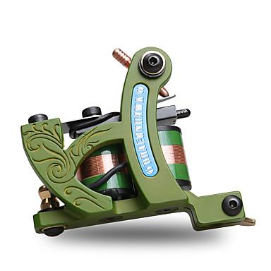 Spiral Tatoveringsmaskin Skygge med 6-8 V Støpejern Profesjonell / Høy kvalitet, formaldehydfri