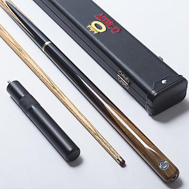 Três quartas-de duas peças Cue Cue Sticks & Acessórios Inglês Bilhar Sinuca Madeira