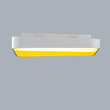 Op plafond bevestigd ,  Hedendaags Schilderen Kenmerk for LED Ministijl KunststofWoonkamer Slaapkamer Eetkamer Keuken