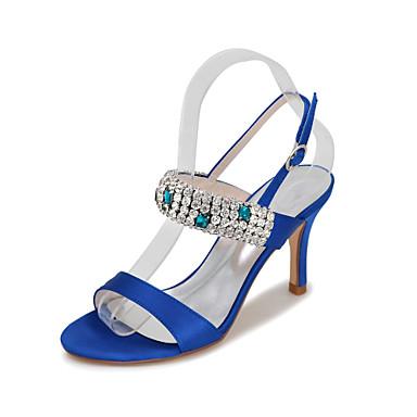 à Talon Talons Soie club Chaussures Chaussures Doré Printemps Aiguille 05238473 Chaussures Chaussures de Eté Lumineuses Strass Femme vW7qTnBP