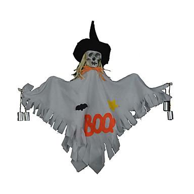 1pc halloween rekwisieten klokken hangen dansen ornamenten skelet hoofd