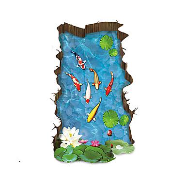 Landschaft Wand-Sticker 3D Wand Sticker Dekorative Wand Sticker Haus Dekoration Wandtattoo Wand Boden