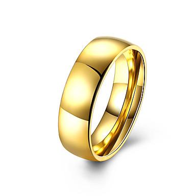 Ring Schmuck Stahl Gold Schmuck Für Normal 1 Stück