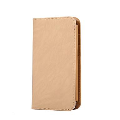 Etui Til Universell / Annet Lommebok / Kortholder / Flipp Heldekkende etui Ensfarget Hard PU Leather til