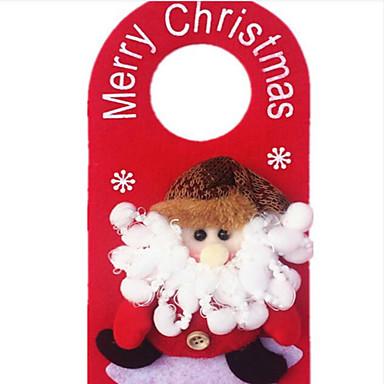 kerst deur opknoping kerstversiering toe kerst versieren kerstversiering patroon is willekeurig