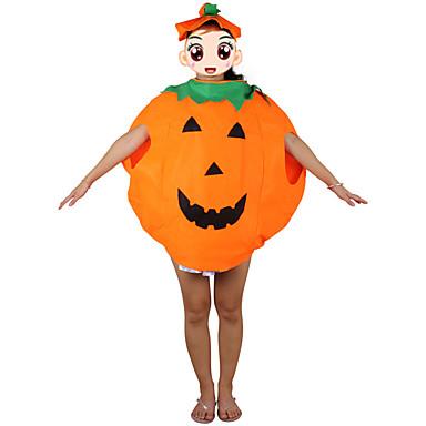 1pc Halloween pompoen kleding en pompoen hoed kostuum partij