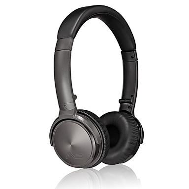 C45 No ouvido Bandana Com Fio Fones Dinâmico Aluminum Alloy Celular Fone de ouvido Isolamento de ruído HI FI Fone de ouvido