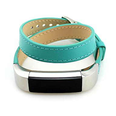 Urrem for Fitbit Alta Fitbit Klassisk spænde Læder Håndledsrem