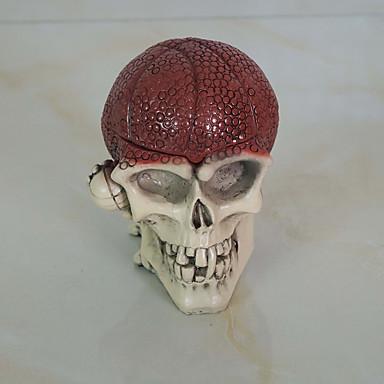 1pc halloween props dansen ornamenten skelet hoofd asbak ornamenten
