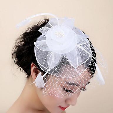 sulka hiukset leikkeen headpiece häät puolue tyylikäs naisellinen tyyli