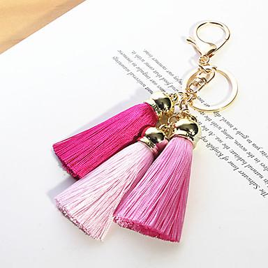 3 Koreaanse autosleutel zijde kwastje vrouwelijke all-match kleur seto konijn pluche tas hanger sieraden