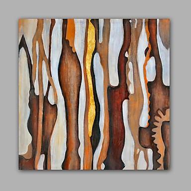 Handgeschilderde Abstract Landschap Klassiek Modern Canvas Hang-geschilderd olieverfschilderij Huisdecoratie Eén paneel