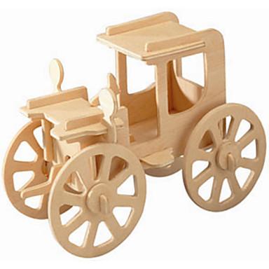 voordelige 3D-puzzels-Houten puzzels Modelbouwsets Vintage auto professioneel niveau Puinen 1pcs Kinderen Jongens Geschenk