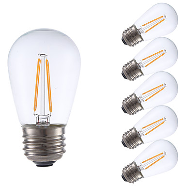 2w e26 led-hehkulamppuja s14 2 tontti 200 lm lämmin valkoinen himmennettävä 120v 6 kpl