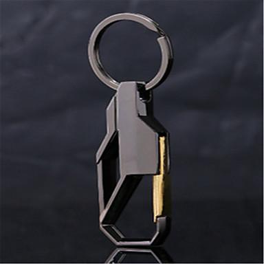 metalli avainnipun mukautetun miesten auton riipus avainrengas