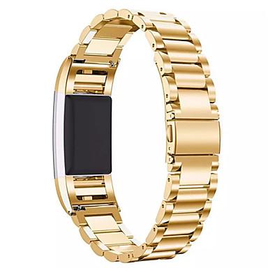 Negro / Rose / Dorado / Plata Acero Inoxidable Hebilla Clásica Para Fitbit Reloj 20mm