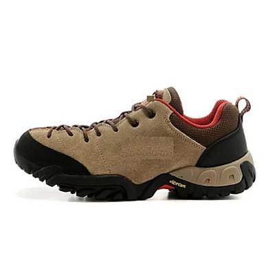 Masculino sapatos Couro Primavera Outono Inverno Conforto Tênis Aventura Cadarço Para Casual Azul Khaki