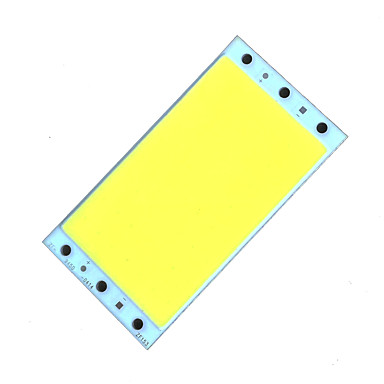 zdm diy 18-25w 2000lm kaltweiß / warmweiß led platz integrierte lichtquelle bord (dc12-14v 1.6a)