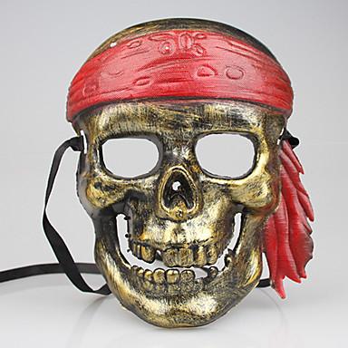 1pc dia das bruxas partido do traje ornamentos caixa de máscara toe