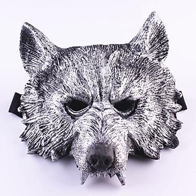 Halloween-Masken Masken Wolfskopf Zum Gruseln Gummi 1pcs Stücke Erwachsene Geschenk