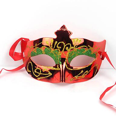 (Kleur random) 1pc Halloween masker festival ornamenten