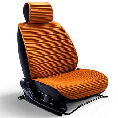 voordelige Auto-interieur accessoires-linnen stoelverwarming voor auto ademend koeler matten universele gezeten pad kussens