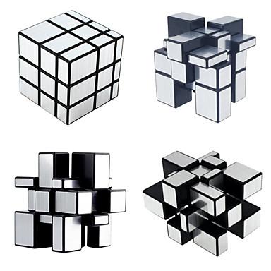 billige Spill og gåter-3 stk Magic Cube IQ-kube Shengshou Pyramid Alien MegaMinx 3*3*3 Glatt Hastighetskube Magiske kuber Stresslindrende leker Pedagogisk leke Kubisk Puslespill Hastighet Profesjonell Klassisk & Tidløs