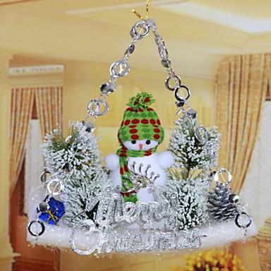 Decorações de férias Floco de Neve Ornamentos Natal 1pç