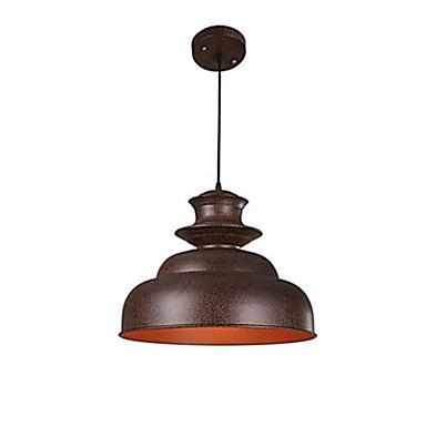 Luzes Pingente ,  Vintage Pintura Característica for LED Metal Sala de Estar Quarto Banheiro Quarto de Estudo/Escritório Corredor